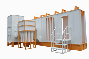 Automático Powder Coating cabina colo-6157